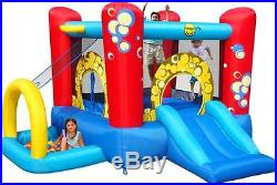 Duplay Bubble 4 in 1 Inflatable Kids Bouncy Castle with Slide & Ball Pool
