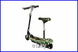 Electric E Scooter Kids Battery Ride On Toy Bike Stand Adjustable Seat 2in1