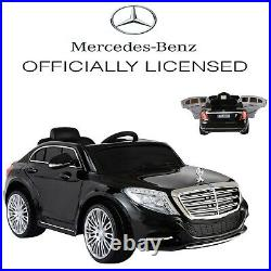 Electric Kids Ride On Car Mercedes-Benz Licensed S600 12V MP3 RC Remote Control