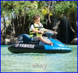 Electric Water Scooter Kids Inflatable Ride On Jet Ski Raft Boat Sea Pool Lake