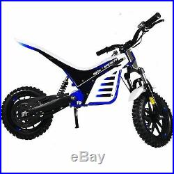 Epicmoto Lithium Powered 800W 36V Kids Electric Dirt Bike Blue Pre-order