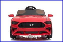 FORD MUSTANG GT Style 12V Electric Battery Powered Kids Ride On Car With Remote