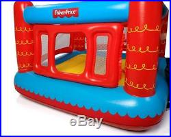 Fisher Price Children Kids Inflatable Bouncy Castle Play House Jumper Toy Game