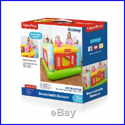 Fisher-Price Kids Bouncetastic Bouncer Indoor Inflatable Bounce House Ages 3+