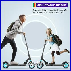 Foldable Electric Scooter 42V 350W Kids Adults E-Scooter UK Stock With Front Bag