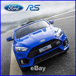 Ford Focus Rs Licensed 12v Kids Ride On Electric Battery 2.4g Remote Control Car