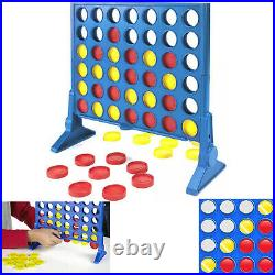 Four-In-A-Row Connect 4 In a Row Plastic Indoor table Game Outdoor Party Toy