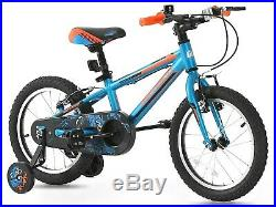 GREENWAY Kids Bike for Boys Children's Bicycle 16 inch Blue & Orange UK