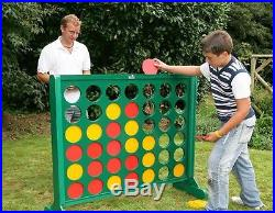 Garden Giant Row Connect Four 4 Type Game Family Outdoor Fun Kids Adults