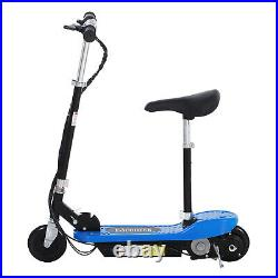 HOMCOM Electric E Scooter Ride on Toy for Kids Children 120W Blue