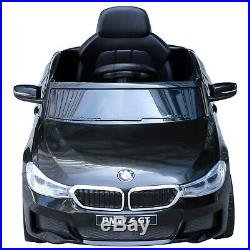 HOMCOM Kids Ride On Car Licensed BMW 6GT 6V Electric Battery Powered Music Play