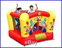 Happy Hop Brand New Kids Clown Bouncy Castle Inflates in 60 Seconds All in 1 Box