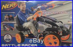 Hauck Nerf Battle Racer Kids Go Kart Ride On Pedal Car Gokart Pedaling Cart