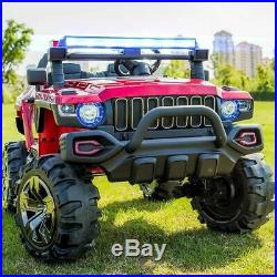 Hummer Style 24V Off Road Kids Ride On Car SUV 4X4 Electric Battery Powered