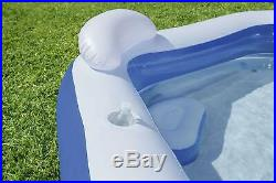 Inflatable Bestway Family Swimming Pool Kids Summer Water Fun Lounge Play Pool