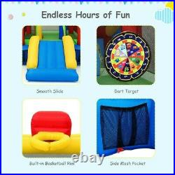 Inflatable Bounce House Castle Jumper Safety Bouncer Outdoor Bouncy Kids Play