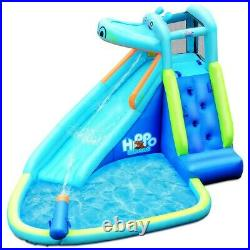 Inflatable Bounce House Kids Big Water Slide Hippo Bouncer Castle Pool Bouncer