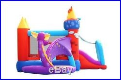 Inflatable Bounce House Slide Commercial Jumper Bouncer Kids Toy Ball Pit Blower