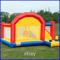 Inflatable Bounce House With Slide Safety Bouncer Castle Jumper Bouncy Play Kids
