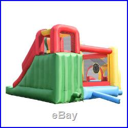 Inflatable Bouncy Castle Kids Jumping House Play Fun Center With Slide & Ball