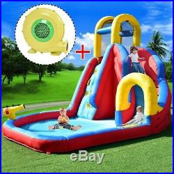 Inflatable Bouncy Castle Kids Water Slide Climbing Wall Outdoor