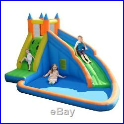 Inflatable Bouncy Castle Outdoor Garden Large Jumper House Water Slide kid party
