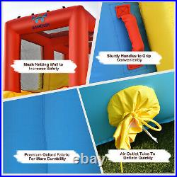 Inflatable Bouncy Castle Water Park Kids Bounce House Double Water Slides Pool