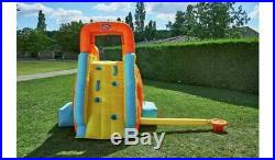 Inflatable Bouncy Castle Water Slide Kids Outdoors Garden With Blower