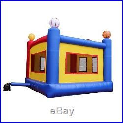 Inflatable Jumper Sports Commercial Bounce House with Blower Kids Bouncer