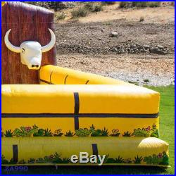 Inflatable Rodeo Mechanical Bull Sports Game Riding Machine With Air Blower