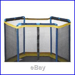 JumpZone 7' ft My First Trampoline Tent Top Enclosure Net Combo Bounce Kids 3-10
