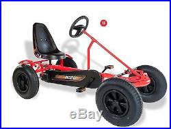 KIDS ADULTS ROBUST DINO RED PEDAL GO KART SPRINT AF MADE IN GERMANY not Chinese