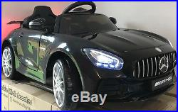 KIDS RIDE ON ELECTRIC CAR MERCEDES GT NEW FOR 2018 12v BATTERY REMOTE CONTROL
