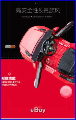 Kid's Electric Car Children 6V Battery Powered Toy Cars With Remote Controller