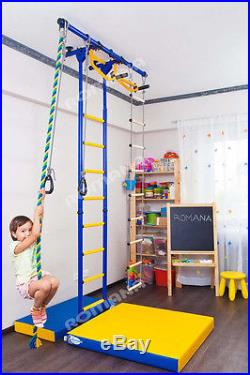 Kid's Home Gym Indoor Swedish wall Playground Set for Kids room Carousel R55