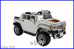 Kids 12v electric hummer style ride on car ride on jeep