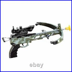 Kids Army Crossbow Set With Arrows Target Toy Archery Play Cross Bow Hunting Gun