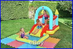 Kids Bouncy Castle Set Inflatable Pool And Slide Fun Outdoor Garden Play 10Ft