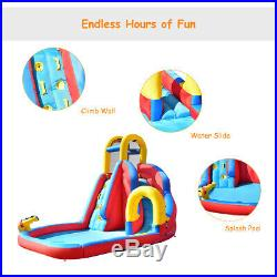 Kids Bouncy Water Castle Inflatable Water Park Jumper Play House Bounce Jumping
