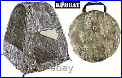 Kids Boys Combat Outdoor Army Camo Childrens Play Pop Up Camping Tent Den Base