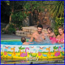Kids Childrens 6 Ft Rigid Snapset Garden Party Outdoor Paddling Swimming Pool