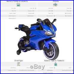 Kids Ducati Style 12V Electric Motor Battery Operated Ride On Motorbike with MP3