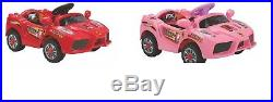 Kids Electric Battery 6v Ride On Toy Car With Parental Remote Control