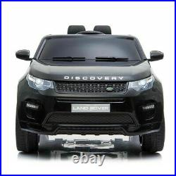 Kids Electric Car 12v Land Rover Discovery Battery Ride On Remote Black