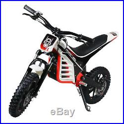 Kids Electric Dirt Bike Epicmoto Lithium Powered 800W 36V Red Pre order