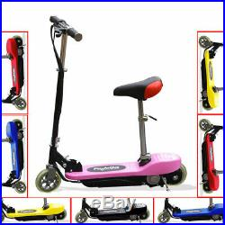 Kids Electric E Scooters 120w 24v Battery Ride On Childrens Scooter