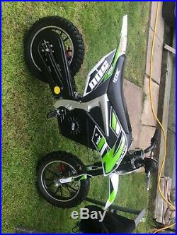 Kids Electric Xtreme Motorbike 36v 500w Xtm Scrambler Speed Settings Off Road