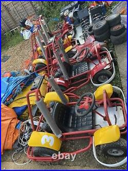 Kids Go Kart Business 4 Pacer Cub Karts 2 tracks 3 blowers lots of accessories
