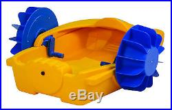 Kids Hand Pedalo or Pedal Boat Turbo Paddler
