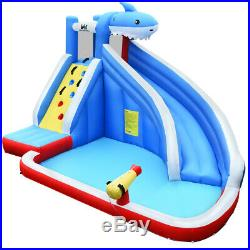 Kids Inflatable Bouncy Castle Jumper House Pool Water Slide with Portable Bag